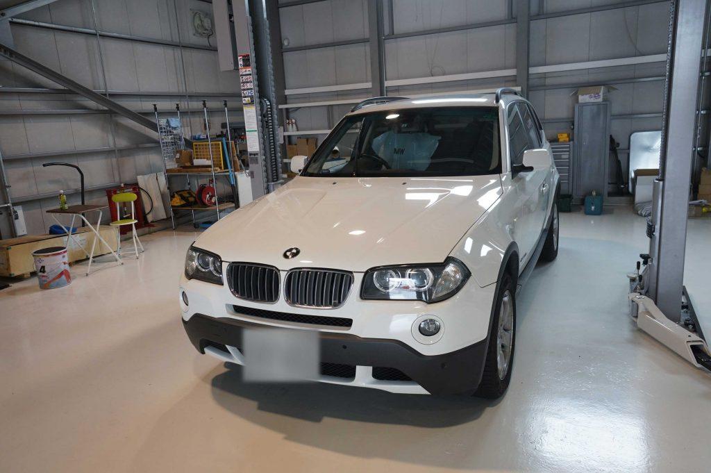BMW X3 ABSランプ点灯 4×4点灯 2017/8/1