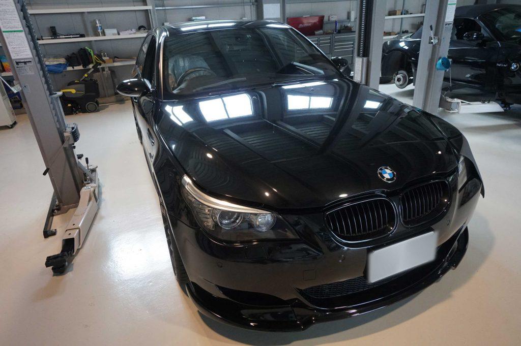 BMW E60 M5 ABSユニット修理 2017/8/25 静岡県からご来店