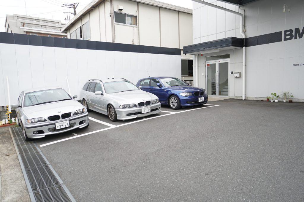 JSQUARE BMW代車