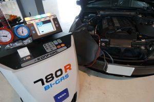 BMW E46 エアコン効かず エアコンリフレッシュで対応!!