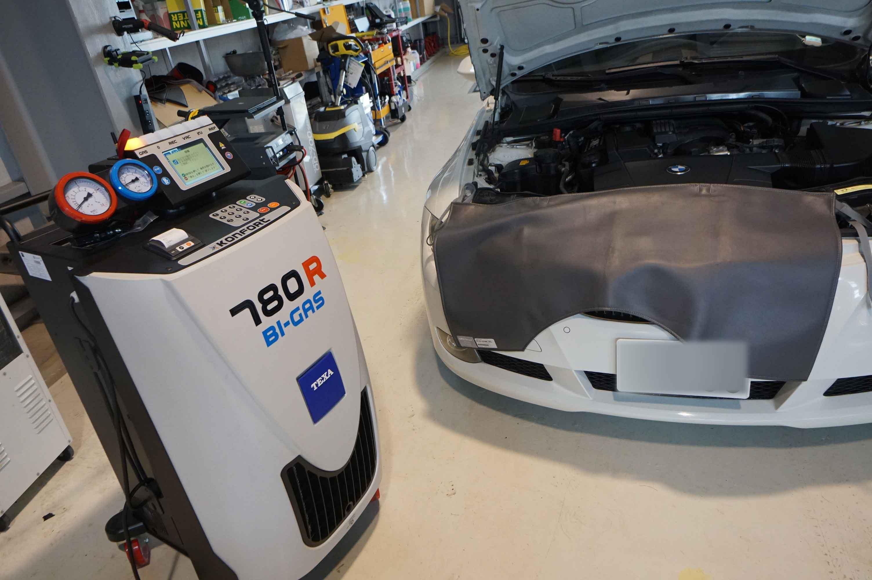 BMW e92 ABS修理 車検整備