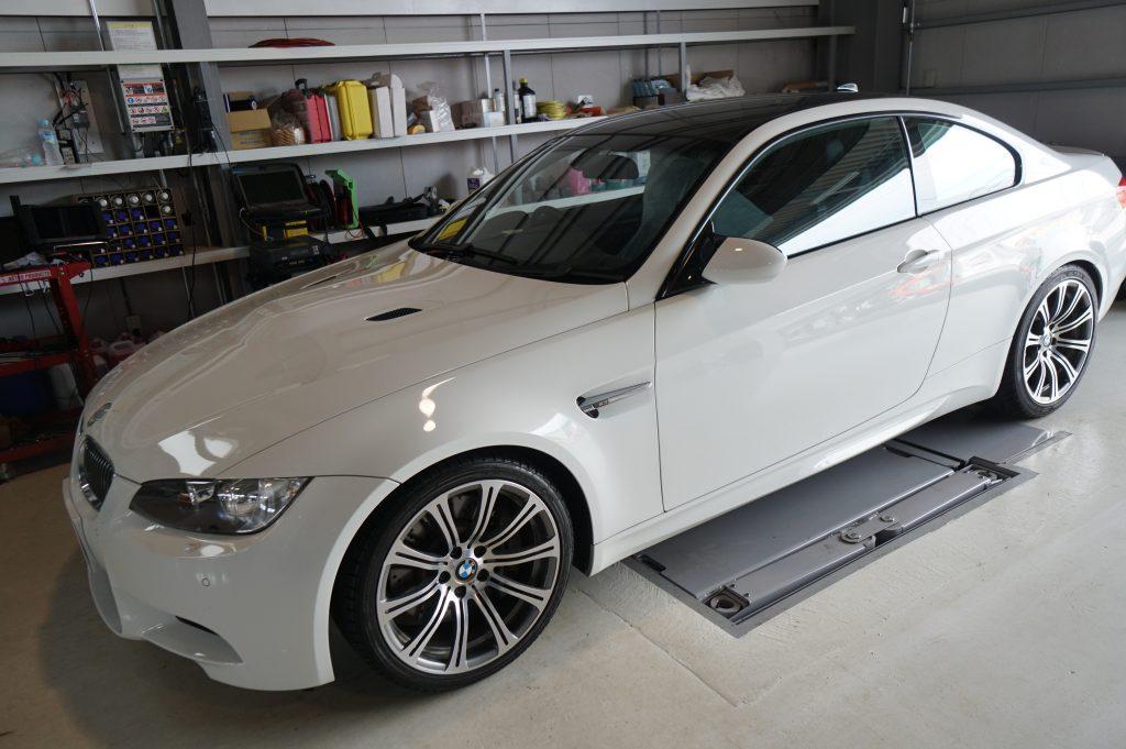 BMW E92 M3 ABSユニット修理 滋賀県からご来店