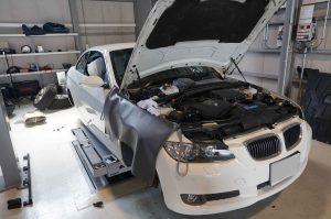 BMW E92 ABS修理 車検整備 3年ぶりにABSランプ消灯でお客様大喜び!!