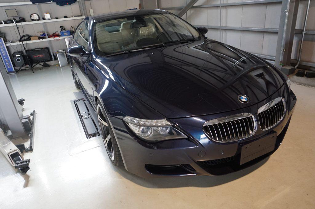 BMW M6 ABS修理 コーディング
