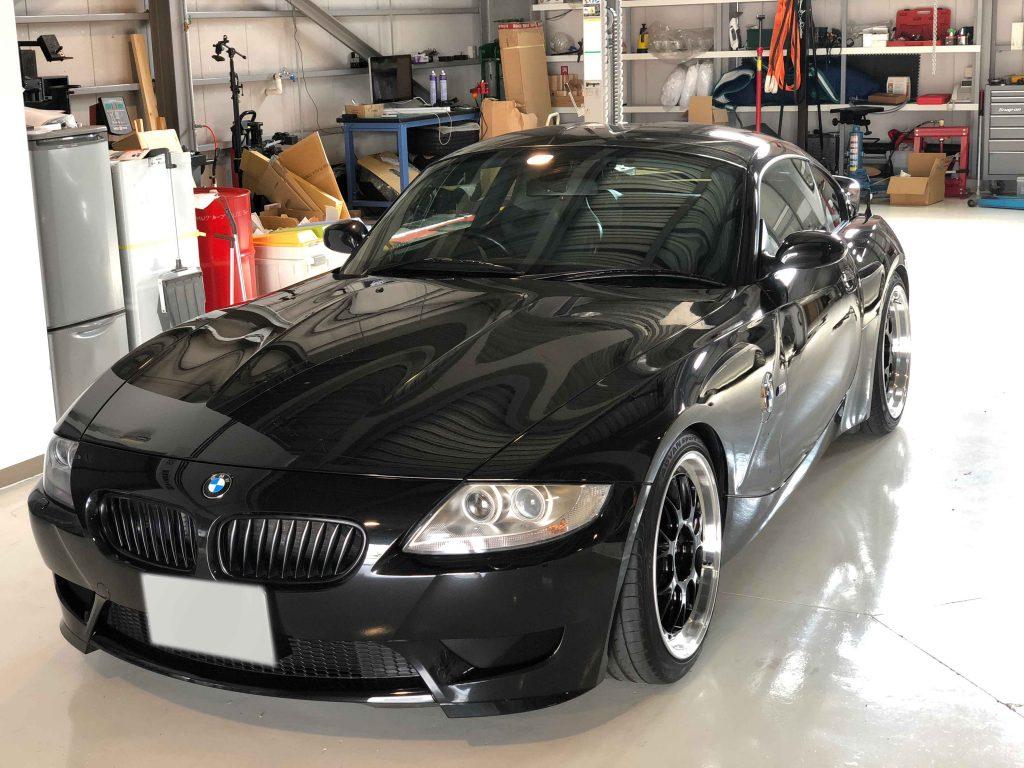 BMW E86 Mクーぺ ボディ磨き、コーティング、エシュロン