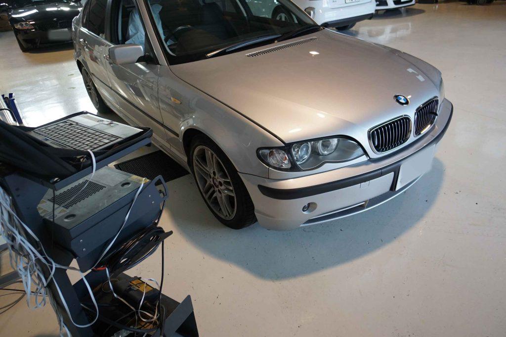 BMW E46 ASCリペアキット交換 お盆休み前で急遽お電話いただきました。