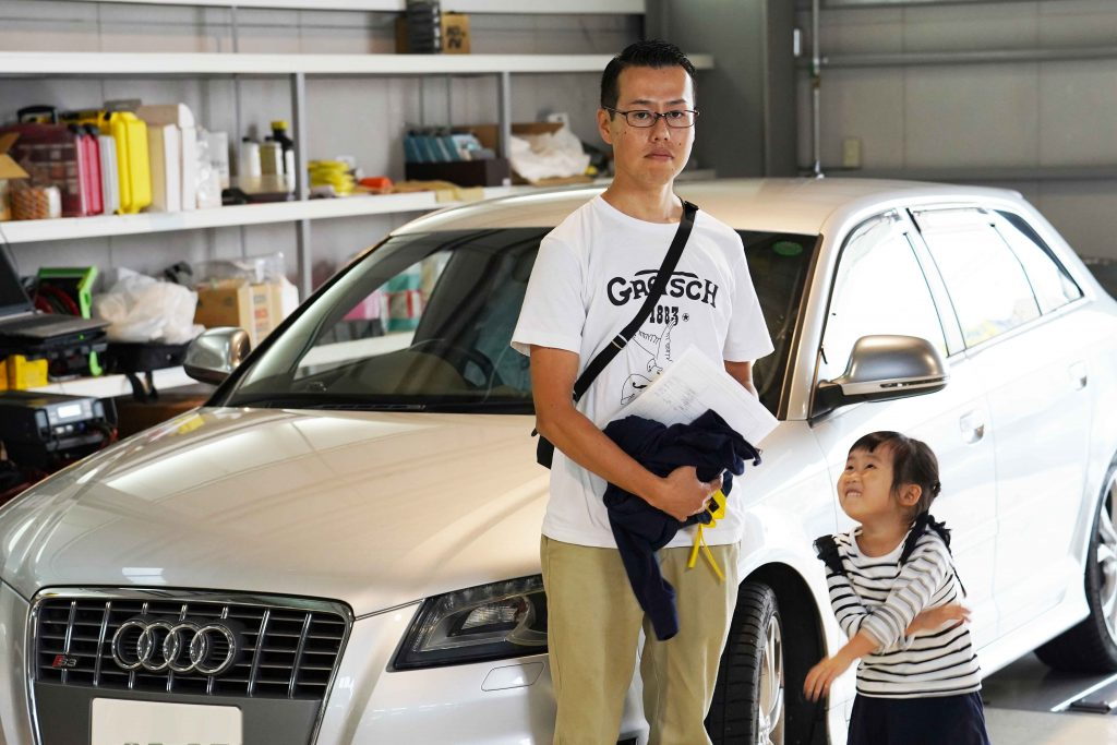 アウディ S3 ABS修理 千葉県からご来店 お客様レビュー