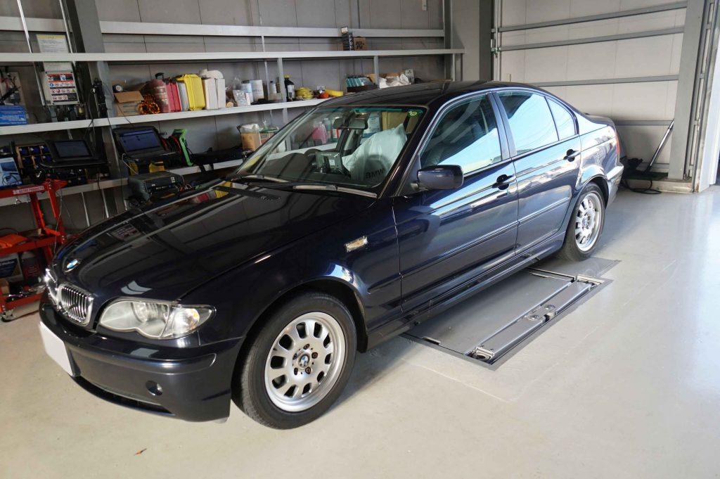 BMW E46 ASCユニット交換