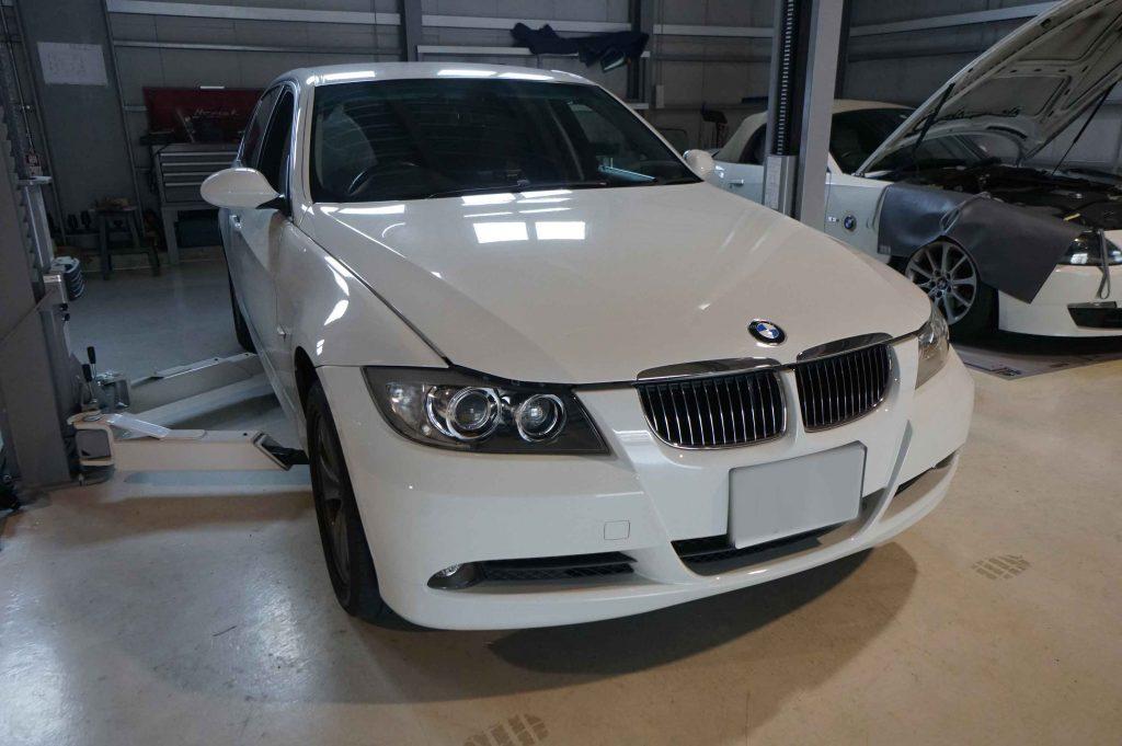 BMW E90 3シリーズ 車検整備 2018-10-30