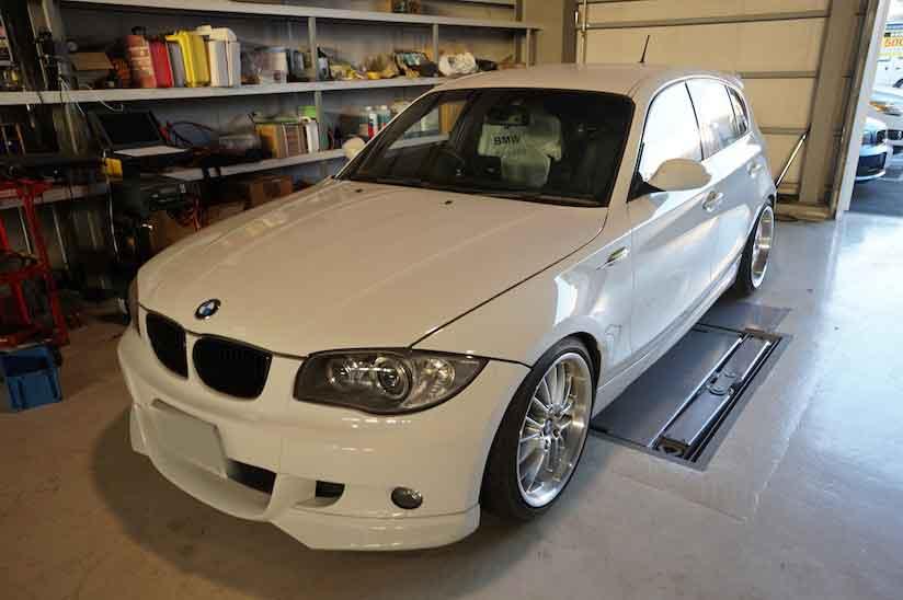 BMW E87 130 ABS修理 車検整備