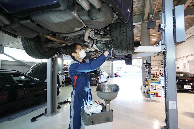 BMW E63 M6車検整備 2019-4-11