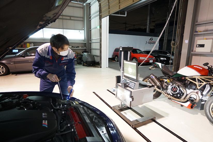 BMW 光軸調整