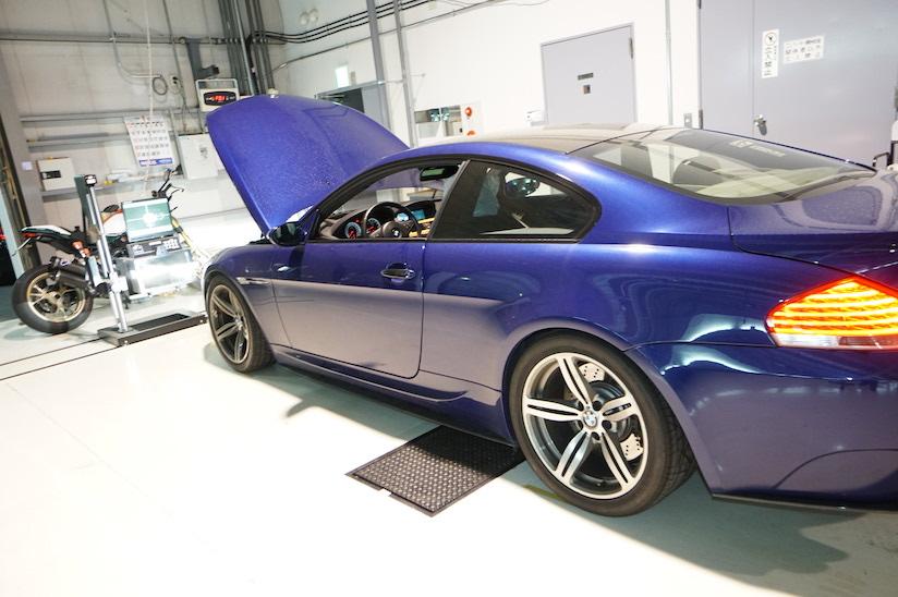 BMW M6車検