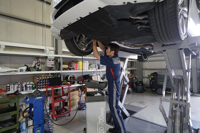 BMW F32 435i 4シリーズ 車検整備 2019-10-10