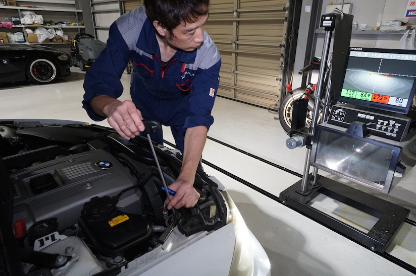 BMW車検整備 ABS修理 2019-10-17
